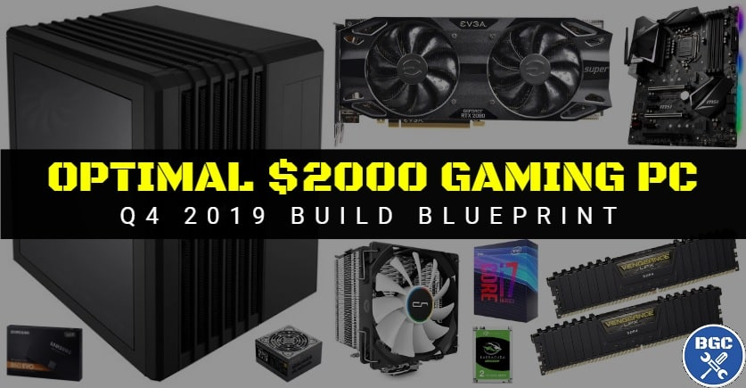 Best Extreme Gaming Pc Build Under 2000 Nov 2019 Bgc
