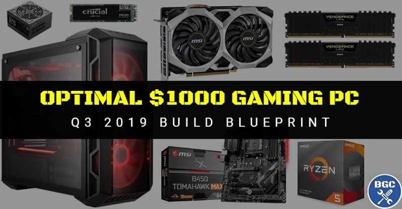 Building the Best $1000 Gaming PC in September (Budget 1440p)