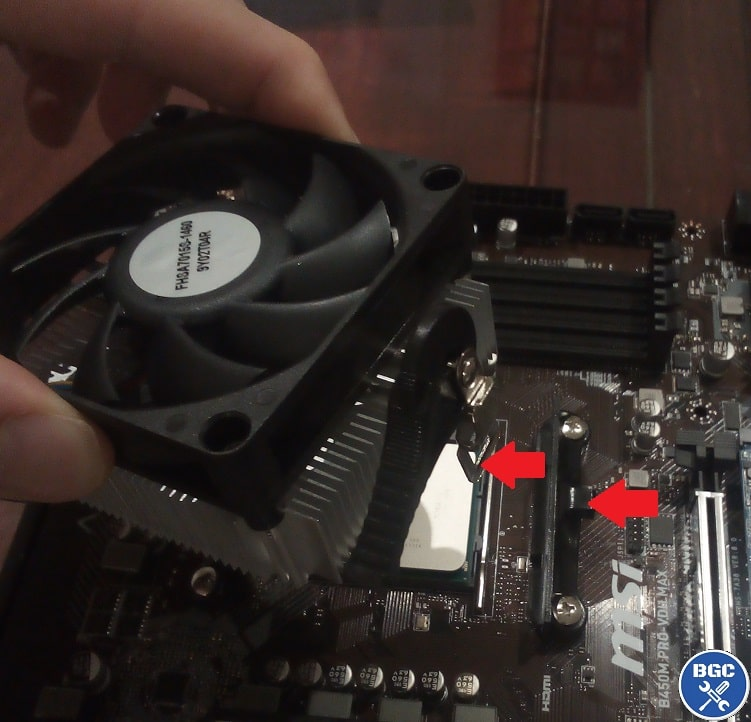 How To Install A Cpu Cooler Intel Or Amd Stock Fan Bgc