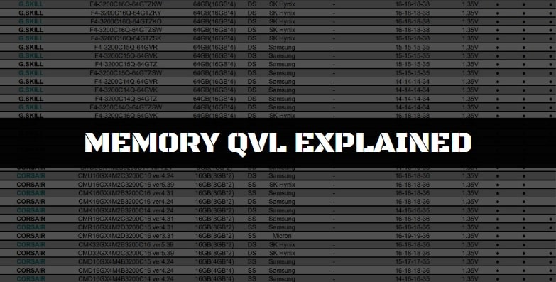 Should you stick to RAM only on the QVL?