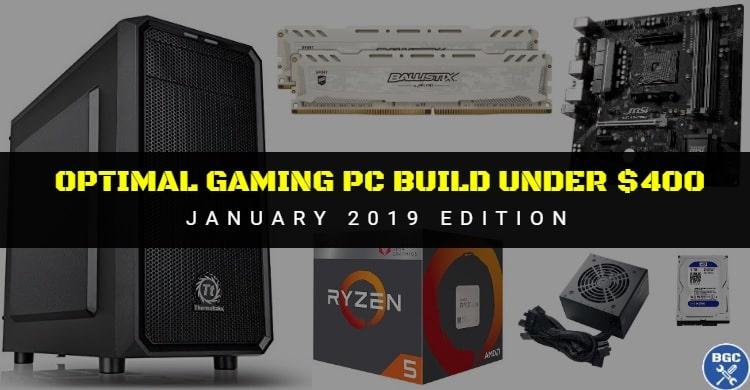 best gaming pc build under 400 dollars