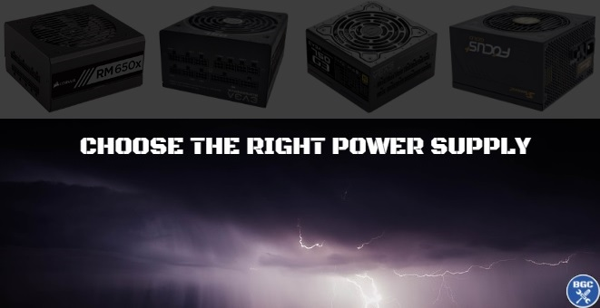 Choose the Best Computer Power Supply for a Gaming PC (2018 PSU Guide)