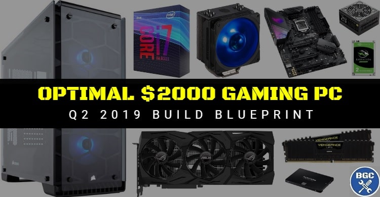 Recommended $2000 Custom Parts-List for 4K Gaming