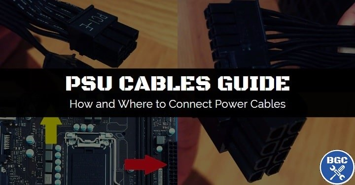 A step-by-step power supply cables guide for beginners