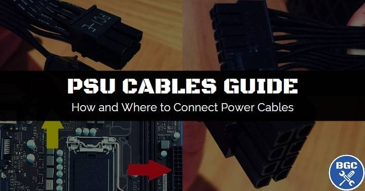 4 pin power connector wiring diagram how to connect power supply cables    motherboard diagram   how to connect power supply cables